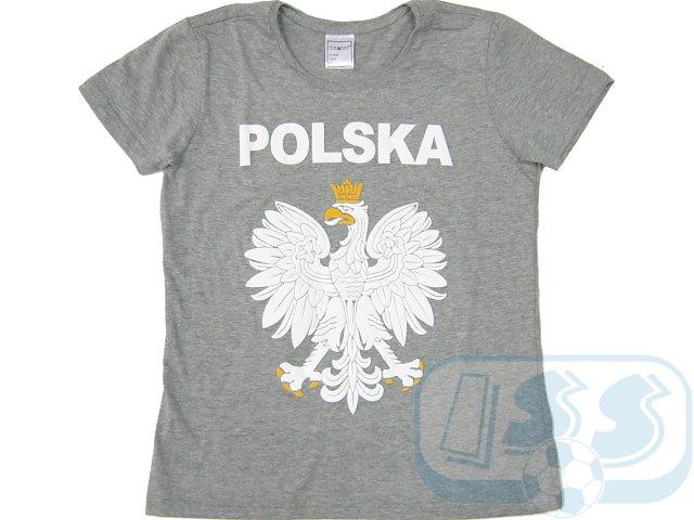 Damen T-Shirt Polen