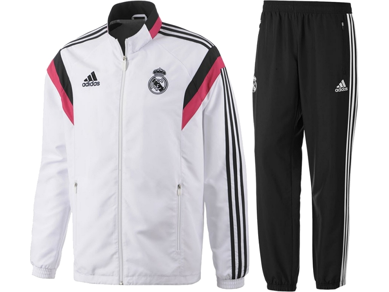 asreal12 real madrid adidas trainingsanzug iss. Black Bedroom Furniture Sets. Home Design Ideas