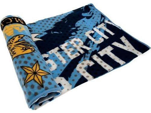 Fleecedecke Manchester City