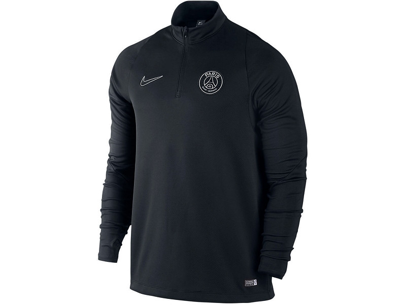apsg21 paris saint germain nike sweatjacke schwarz. Black Bedroom Furniture Sets. Home Design Ideas