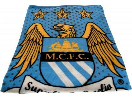 Manchester City Fleecedecke