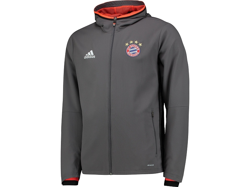 kfcb14 fc bayern m nchen adidas jacke sweatshirts. Black Bedroom Furniture Sets. Home Design Ideas