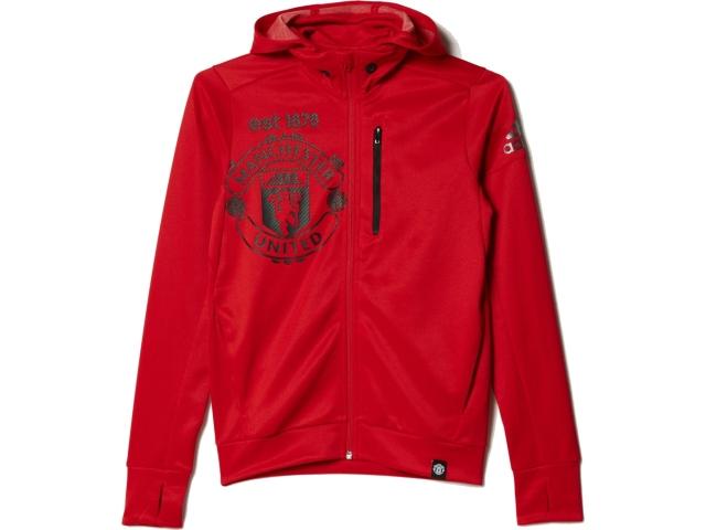 Kinder Kapuzen-Sweatshirt Manchester United 15-16