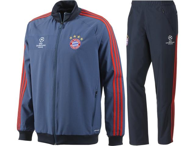 adidas FC Bayern München Champions League Präsentationsanzug