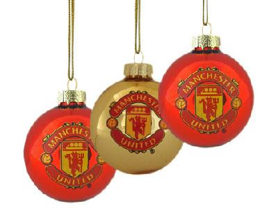 Christbaumkugeln Polen.Manchester United Christbaumkugeln