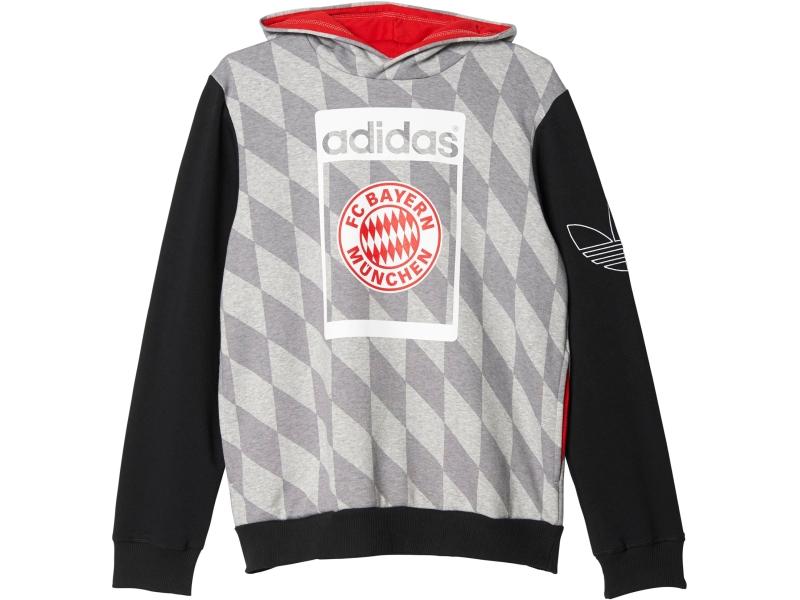 Kapuzen-sweatshirt FC Bayern München  2015