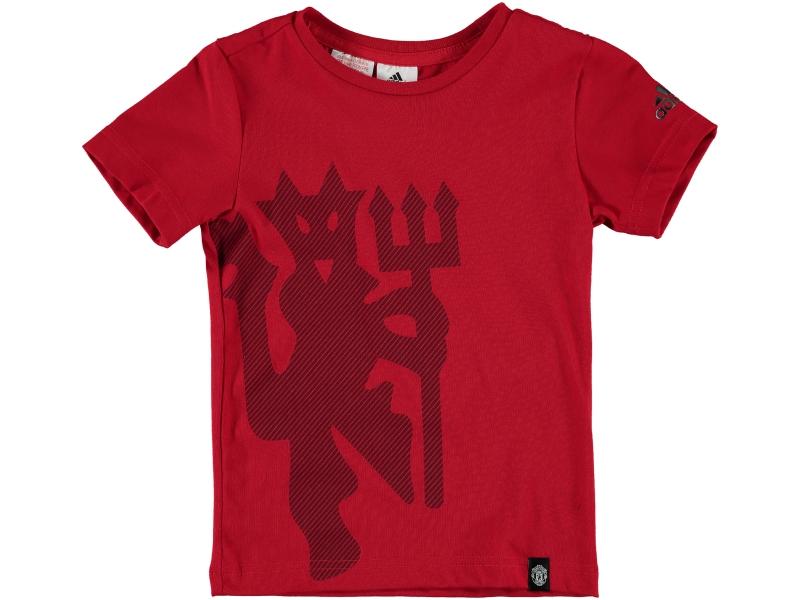 Kinder T-Shirt Manchester United 15-16