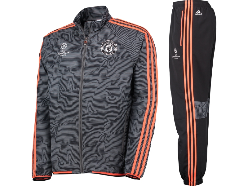 asmanu10 manchester united adidas trainingsanzug. Black Bedroom Furniture Sets. Home Design Ideas
